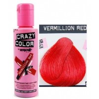 Crema Colorante Semipermanente Crazy Color n°40 Vermillion Red