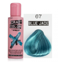 Crema Colorante Semipermanente Crazy Color n°67 Blue Jade