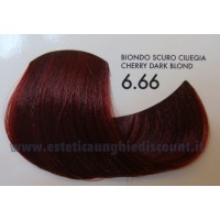Tinta professionale senza Ammoniaca ColorIng ING - 6.66 BIONDO SCURO CILIEGIA