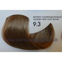 Tinta professionale senza Ammoniaca ColorIng ING - 9.3 BIONDO CHIARISSIMO DORATO