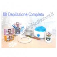Kit Depilazione Completo per Cera Barattolo + Accessori.