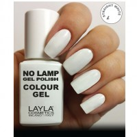 LAYLA Gel Polish NO LAMP - 1 STRIGHT WHITHE