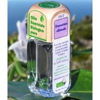 Puro olio essenziale d'origine BIOLOGICA di ROSMARINO (Rosmarinus officinalis).