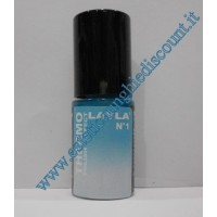 Layla Smalto Nail Polish Thermo Effect - 01 DARK TO LIGHT BLUE