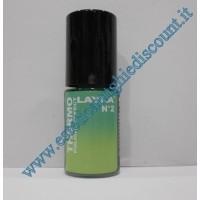 Layla Smalto Nail Polish Thermo Effect - 02 DARK TO LIGHT GREEN