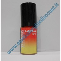 Layla Smalto Nail Polish Thermo Effect - 03 RED TO YELLOW