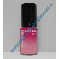 Layla Smalto Nail Polish Thermo Effect - 04 DARK TO LIGHT PINK