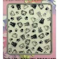 Stickers Nail Art Orsacchiotti