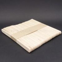 50 Spatola in legno Monouso PICCOLE 11X1 CM