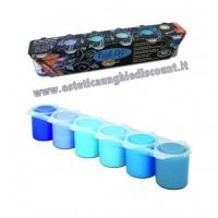 Kit 6 colori Acrilici Oksana Bilous Micropittura - Nail Art