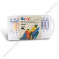 Colore acrilico fine  12 colori 7.5 ml