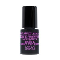 Layla Gel Polish Base & Top Fissatore Lucidante