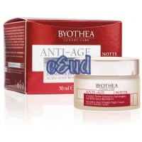 Byothea CREMA ANTIRUGHE ACIDO IALURONICO NOTTE - INTENSIVA - 50ml