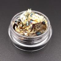 Foglia Oro per decorazione nail art GOLDEN OXIDANTE.