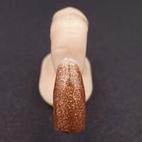 Gel Unghie Colorato UV/LED Glitterato - Cioccolato di Modica G 231