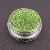 Glitter Medium nail art Verde Speranza.