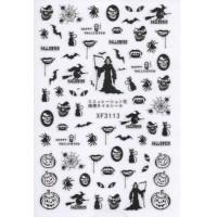 Stickers Nail Art Halloween 3