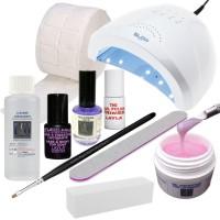 Starter Kit Ricostruzione Unghie con Lampada UV LED