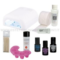 Kit completo DeLuxe Smalto Semipermante Layla GelPolish