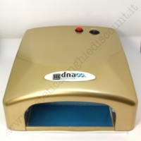 Lampada Fornetto UV da 36 Watt ORO con Timer 120 secondi.