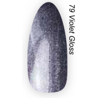 Layla Gel Polish Smalto Gel Semipermanente -  79 VIOLET GLOSS