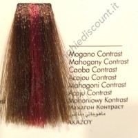 Tinta Contrasto Professionale per capelli con ammoniaca Inebrya Mogano