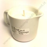 Sibel HOT MASSAGE Oil - Olio da massaggio a candela alla Vaniglia