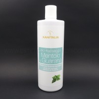 Olio da Massaggio XANITALIA Rinfrescante e Tonificante al Mentolo 500ml
