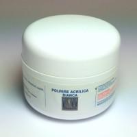Polvere Acrilica Ricostruzione Unghie Bianca 30 gr