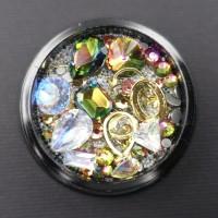 NailArt RhineStones & Overlays Mix rose 4204209