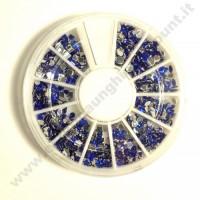 Rondella Nail Art Fantasia Blu