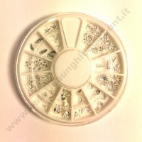 Rondella Nail Art Forme Silver