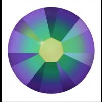 100 Swarovski Crystal Xilion Rose crystal scarabaeus green 2.55mm 4202841