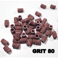 Cilindretti abrasivi per fresa Grana 80 conf. p.z. 100