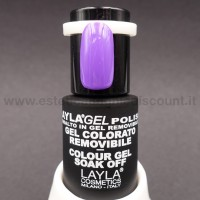 Layla Gel Polish Smalto Gel Semipermanente - 238 majestic purple.