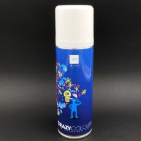Hair Color spray colore Bianco
