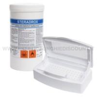 FARMEC STERADROX ACIDO PERACETICOPER DINFEZIONE E STERILIZZAZIONE da 1 KG. + VASCHETTA