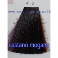 Tinta Capelli Professionale CorIng ING agli acidi di frutta da 100 ml - 4.5 CASTANO MOGANO