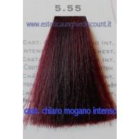 Tinta Capelli Professionale CorIng ING agli acidi di frutta da 100 ml - 5.55 CASTANO CHIARO MOGANO INTENSO