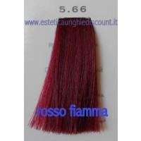 Tinta Capelli Professionale CorIng ING agli acidi di frutta da 100 ml - 5.66 ROSSO FIAMMA