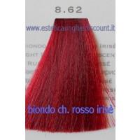 Tinta Capelli Professionale CorIng ING agli acidi di frutta da 100 ml - 8.62 BIONDO CHIARO ROSSO IRISE