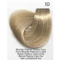 Tinta Colorante Professionale per capelli con ammoniaca Inebrya Biondo Platino Chiaro Puro 10