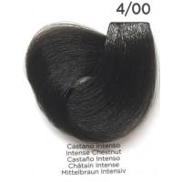 Tinta Colorante Professionale per capelli con ammoniaca Inebrya Castano Intenso 4.00