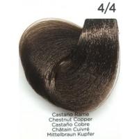 Tinta Colorante Professionale per capelli con ammoniaca Inebrya Castano Rame 4.4
