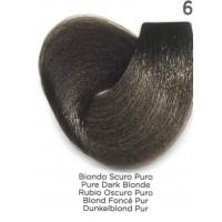 Tinta Colorante Professionale per capelli con ammoniaca Inebrya Biondo Scuro Puro 6