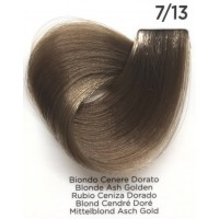 Tinta Colorante Professionale per capelli con ammoniaca Inebrya Biondo Cenere Dorato 7.13