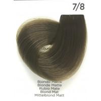 Tinta Colorante Professionale per capelli con ammoniaca Inebrya Biondo Matte 7.8