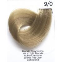 Tinta Colorante Professionale per capelli con ammoniaca Inebrya Biondo Chiarissimo 9.0