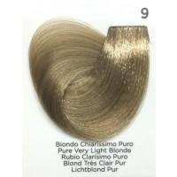Tinta Colorante Professionale per capelli con ammoniaca Inebrya Biondo Chiarissimo Puro 9