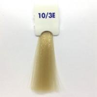Crema Colorante INEBRYA Bionic Color senza ammoniaca Professionale Permanente 10.3E Biondo Platino Dorato